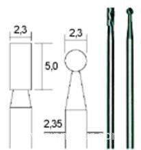 Hartmetall-Fräsersatz, 2tlg. (Zylinder & Kegel)