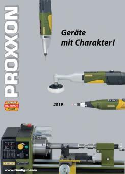 "PROXXON - Katalog ""Geräte mit Charakter"" 2019"