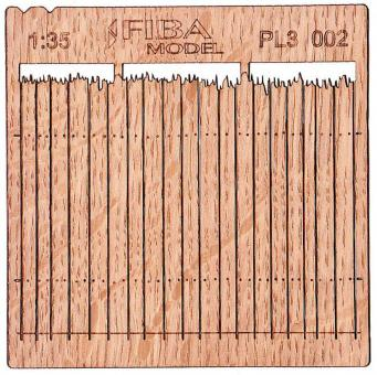 Wooden Fence - Type 2