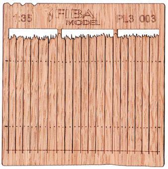 Holzzaun Typ 3