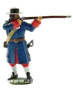 Musketier, Regiment von Zurlauben