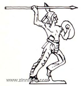 Indian throwing spear