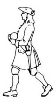 Artillery Man carrying round
