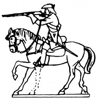 Cavalry firing rifle