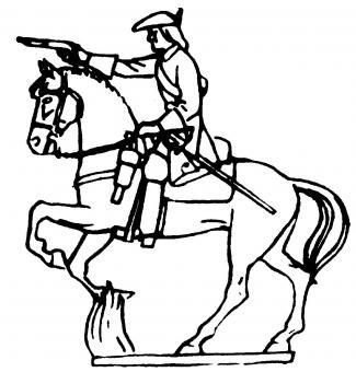 Cavalry firing pistol