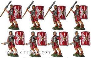 8 Legionäre mit Pilum (Speer)
