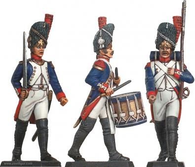 French Imperial Guard Infantry on Parade 1805