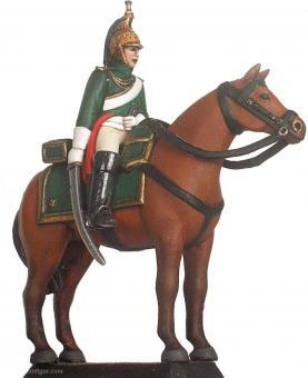 French Imperial Guard Empress dragoon (trooper & horse) 1805