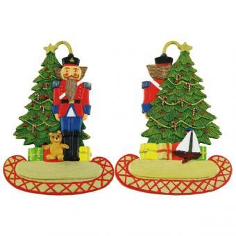 Nussknacker mit Weihnachtsbaum