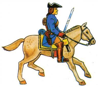 Kavallerist, Mannschaft