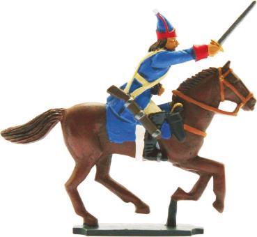 Kavallerist (1) im Angriff, Grenadier zu Pferd