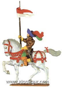 Knight with Lanze with Pennant