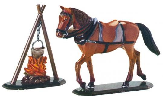Draughthorse and Campfire
