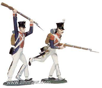 Zwei Linieninfanteristen