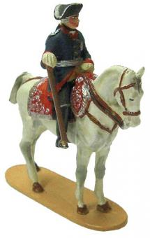 King Frederick II. of Prussia, mounted