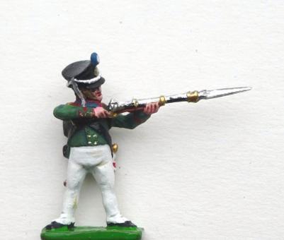 Jäger, Russland 1812-15