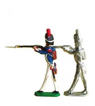 Grenadier, Mann, schießend