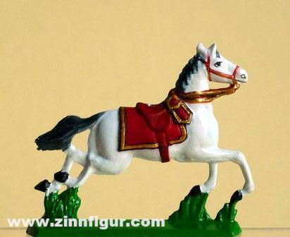 Pferd mit Sattel im Galopp, Type 1