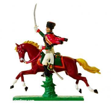 Reiter (Aufsitzer), Gardejäger zu Pferd