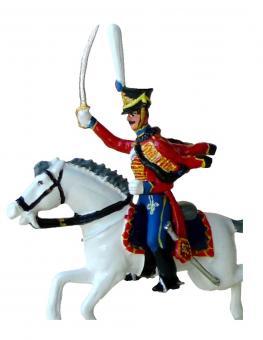 Reiter (Aufsitzer) Gardehusar Russland 1812-15