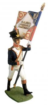 Füsilier-Offizier Fahnenträger - 1805-15