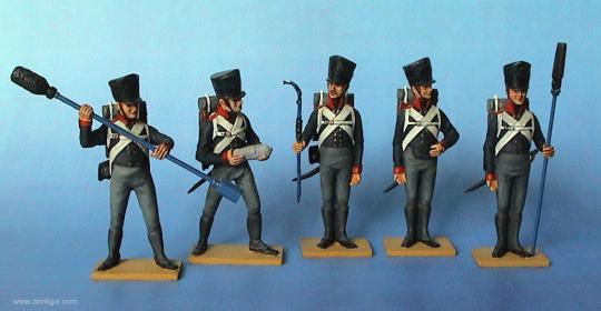 Preußische Geschützbedienung - 1809-15