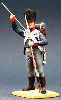 Preußischer Musketier - ladend - 1809-15