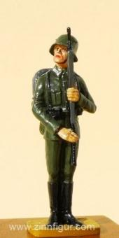 Soldat, Parade, präsentiert