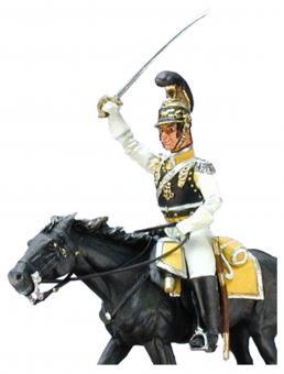 Kürassier-Offizier Aufsitzer - Sachsen 1809-13