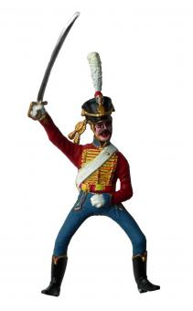 Husar Aufsitzer - Frankreich 1805-15