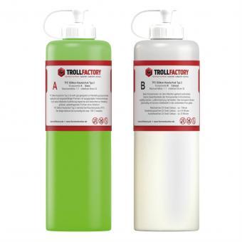 TFC Silikon Kautschuk Typ 2 Abformsilikon Mittelhart 1:1 - 1000 g