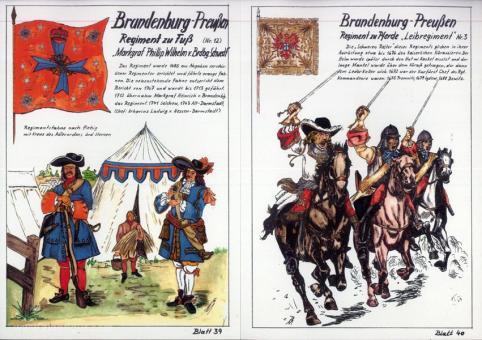 Fürst, Manfred: Brandenburgisch-Preußische Uniformen, 1630 - 1713