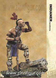 Spezialkatalog für vollplastische Figuren zum Thema Indianer