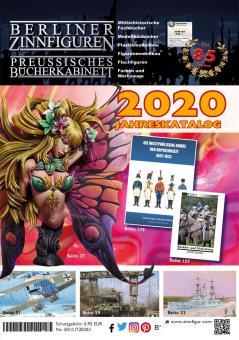 Jahreskatalog 2020 der Berliner Zinnfiguren und des Preußischen Bücherkabinett's