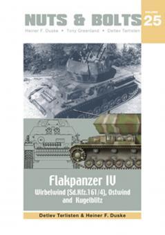Terlisten, D./Duske, H. F.: Flakpanzer IV. Wirbelwind (Sd.Kfz. 161/4), Ostwind & Kugelblitz