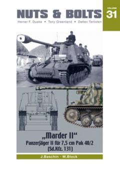 """Baschin, J./Block, M.: """"Marder II"""". Panzerjäger II für 7,5 cm Pak 40/2 (Sd.Kfz. 131)"""