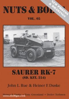 Rue, J. L./Duske, H. F.: Mittlerer gepanzerter Beobachtungskraftwagen Saurer RK-7 (Sd.Kfz. 254)