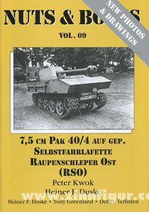 Kwok, P./Duske, H.F.: 7,5 cm PAK 40/4 auf gepanzerter Selbstfahrlafette Raupenschlepper Ost RSO
