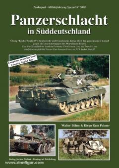 """Böhm, W./Palmer, D. R.: Panzerschlacht in Süddeutschland. Übung """"Kecker Spatz 87"""": Bundeswehr und französische Armee üben den gemeinsamen Kampf gegen die Invasionstruppen des Warschauer Paktes"""