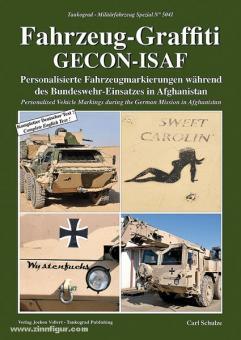 Schulze, C.: Fahrzeug-Graffiti GECON-ISAF. Personalisierte Fahrzeugmarkierungen während des Bundeswehr-Einsatzes in Afghanistan