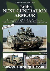 Schulze, C.: British Next Generation Armour.  Varianten und Details moderner britischer Fahrzeugpanzerung