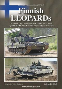 Kirchhoff, A.: Finnish Leopards. Leopard KPz 2 A4, PiPz 2 R und BrLPz 2L der Finnischen Armee