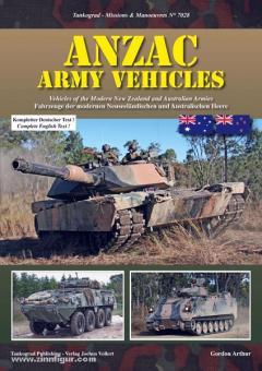 Gordon, A.: ANZAC Army Vehicles. Fahrzeuge der modernen Neuseeländischen und Australischen Heere
