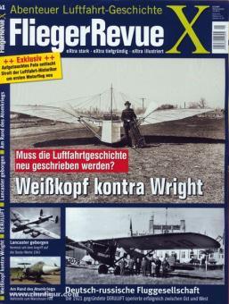 Fliegerrevue X. Abenteuer Luftfahrt-Geschichte. Heft 41