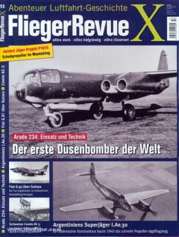 Fliegerrevue X. Abenteuer Luftfahrt-Geschichte. Heft 53