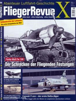 Fliegerrevue X. Abenteuer Luftfahrt-Geschichte. Heft 56