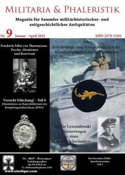 Militaria & Phaleristik. Magazin für Sammler militärhistorischer und zeitgeschichtlicher Antiquitäten. Nr. 9: Januar-April 2021