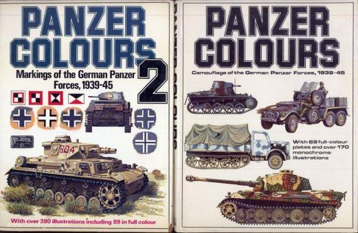 Culver, B./Murphy, B./Greer, D. (Illustr.): Panzer Colours. Band 1 bis 3