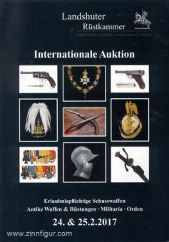 Landshuter Rüstkammer. Antike Waffen & Militaria. Internationale Auktion