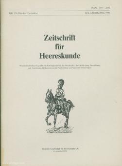 Deutsche Gesellschaft für Heereskunde e. V. (Hrsg.): Zeitschrift für Heereskunde